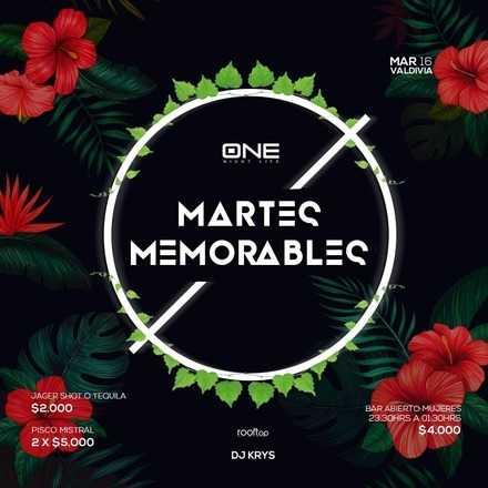 Martes Memorable / 16 OCTUBRE / #EMBAJADORESLIVE RR.PP