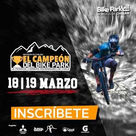 Campeón del Bike Park Nevados de Chillán 2017