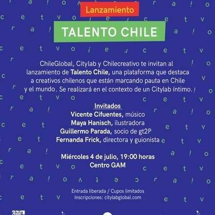 Citylab Lanzamiento Talento Chile