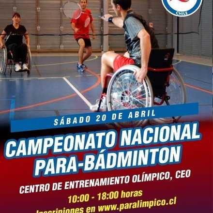 Campeonato Nacional de Para-Badminton 2019
