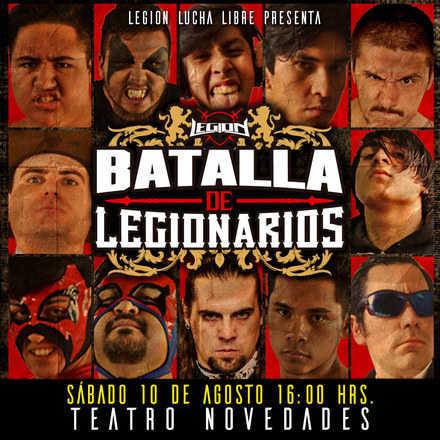 Legión Lucha Libre presenta: Batalla de Legionarios 2019