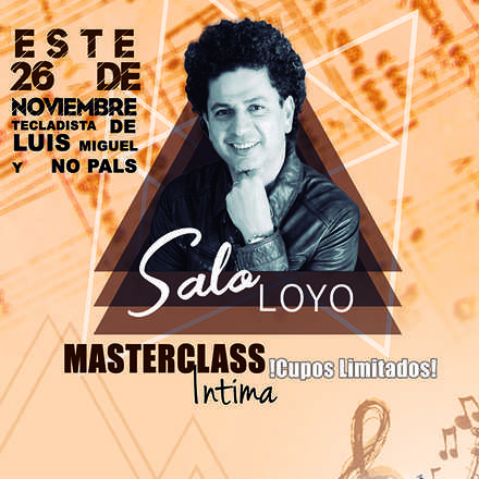 MASTERCLASS MAS AUTRAL DEL MUNDO SALO LOYO