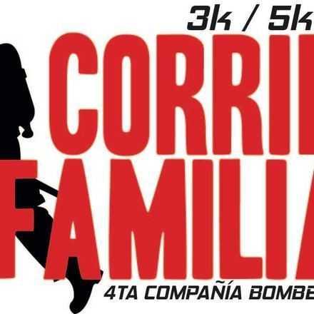 Corrida Familiar Cuarta Compañía Cuerpo de Bombero Lota