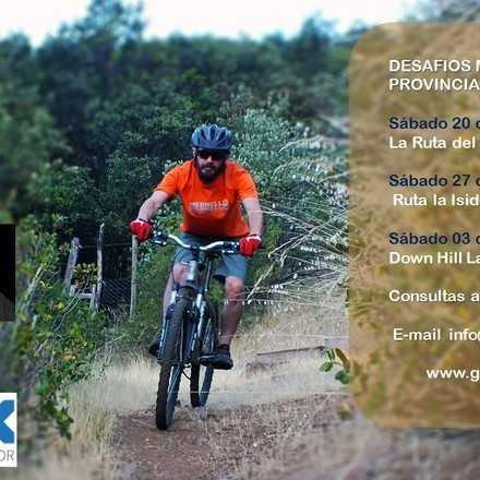 Desafíos MTB 2018 Provincia Cordillera