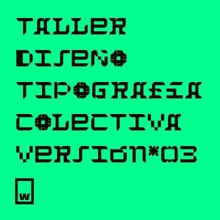 Taller de tipografía colectiva