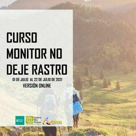 Curso Monitor No Deje Rastro, julio 2021