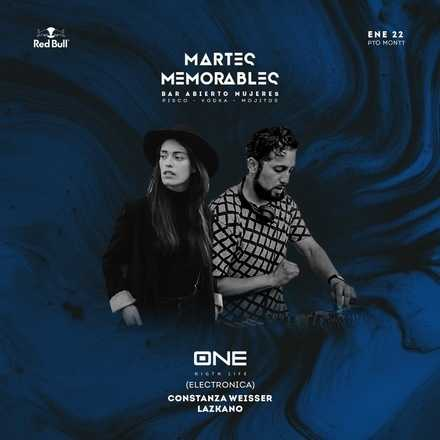 MARTES MEMORABLES 22 DE ENERO // #LIVEGROUP // LAZKANO + WEISSER // ROOFTOP DJ PRESS