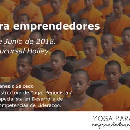 Yoga para emprendedores clase 1
