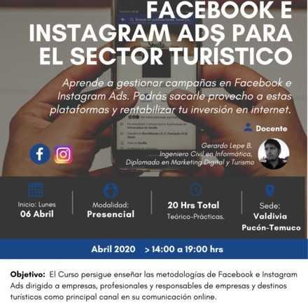 Curso: Campañas en Facebook e Instagram Ads para Empresas Turísticas