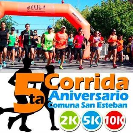 5ta Corrida Aniversario Comuna de San Esteban