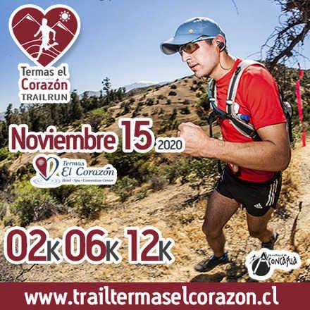 Termas El Corazón Trailrun - 2020 - Noviembre 15
