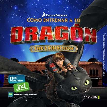 Cómo entrenar a tu Dragón The Exhibition (30 Junio al 31 de Julio)