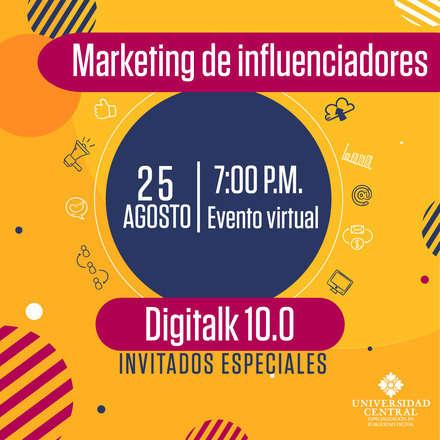 Digitalk 10.0 - Marketing de influenciadores