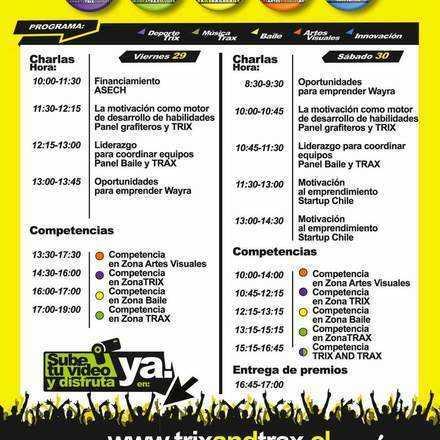 Festival TRIXANDTRAX DuocUC Maipú
