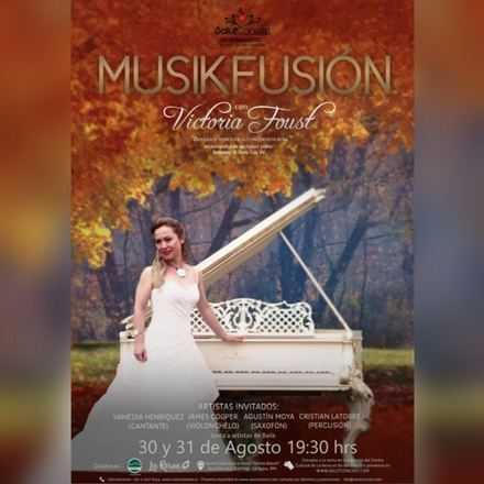MUSIKFUSIÓN con la concertista rusa Victoria Foust: Una experiencia inolvidable para encender todos los sentidos