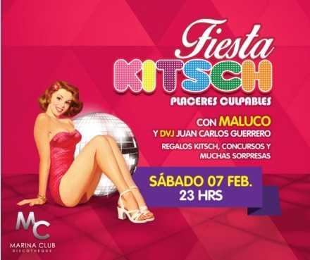 Fiesta Kitsch con Maluco