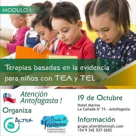 Terapias Basadas en la Evidencia para Niños con TEA y TEL.