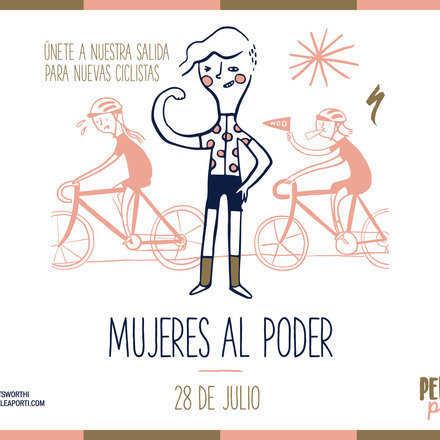 Salida Nuevas Ciclistas: Mujeres al Poder