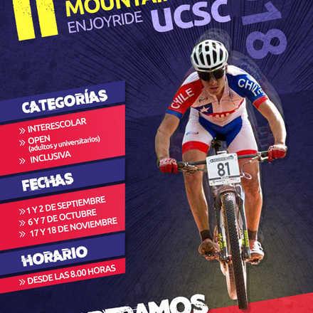 Campeonato de Mountainbike ENJOYRIDE UCSC // Primera fecha Interescolar