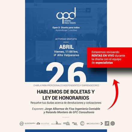 Hablemos de Boletas y Ley de Honorarios - Valparaíso