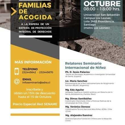 Seminario Internacional de Familias de Acogida