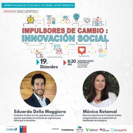 IMPULSORES DE CAMBIO: INNOVACIÓN SOCIAL
