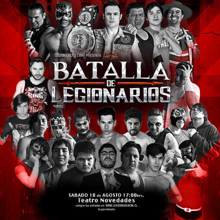 Legión Lucha Libre presenta: Batalla de Legionarios