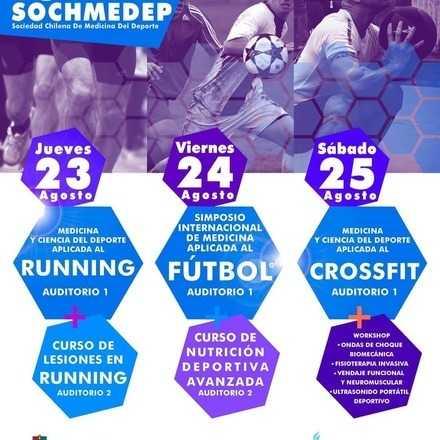 63° Congreso Internacional de Medicina del Deporte SOCHMEDEP