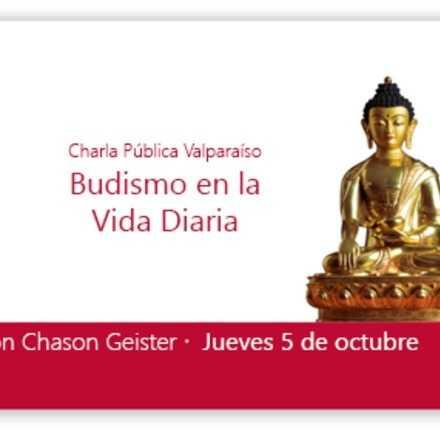 Valparaiso -Chason Geister -Budismo en la vida diaria