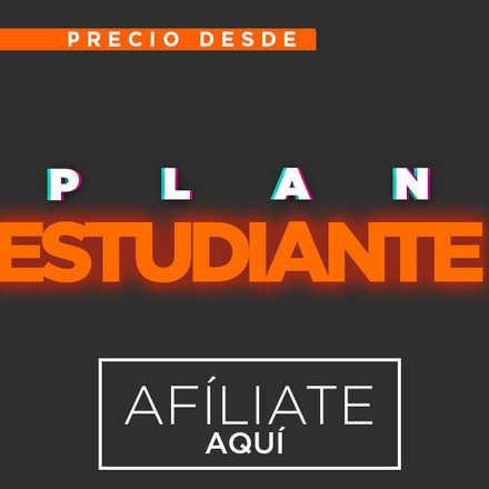 PLAN ESTUDIANTE + 2 MESES ADICIONALES ANIVERSARIO