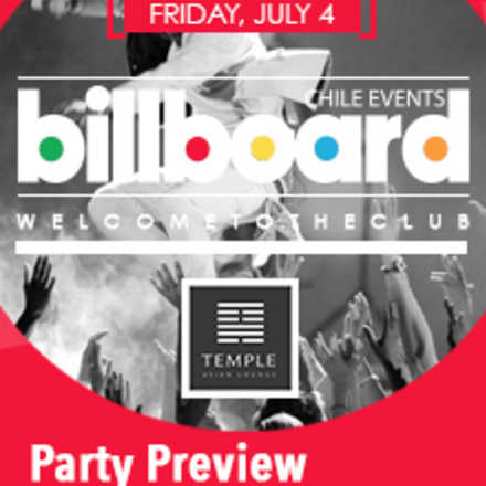 Billboard Party Preview