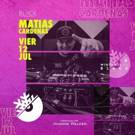 #WinterIsBlack Presenta a -Dj Matias Cardenas-