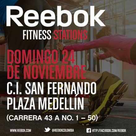 Reebok Fitness Stations Medellín