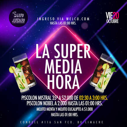 Santo Averno / La Super Media Hora