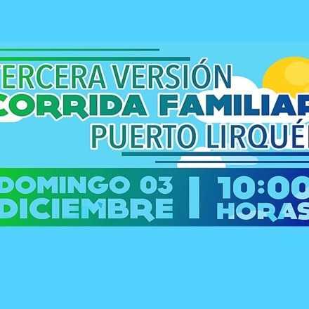Tercera Versión Corrida Familiar Puerto Lirquén