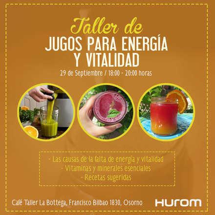 Taller Hurom OSORNO -  Jugos para energía y vitalidad
