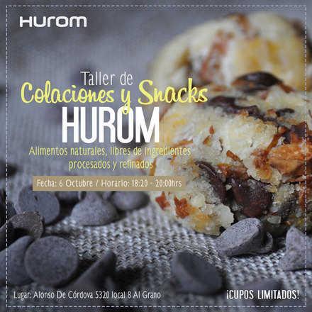 Taller Hurom Snacks y Colaciones 6 Octubre