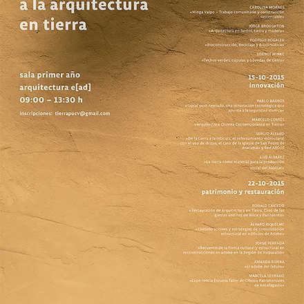 Seminario aproximaciones a la arquitectura en tierra