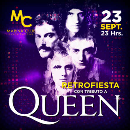 RetroFiesta con Tributo a Queen