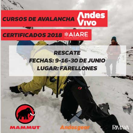 Cursos de Avalancha Rescate AIARE