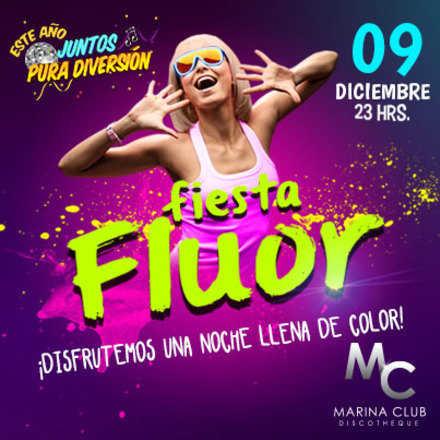 Fiesta Flúor Socias Gratis en MC