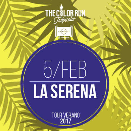 The Color Run La Serena 2017