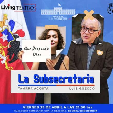 La subsecretaria