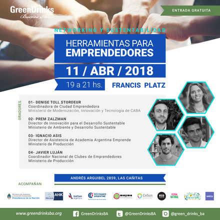 Green Drinks BA - 11-04 / Herramientas para Emprendedores