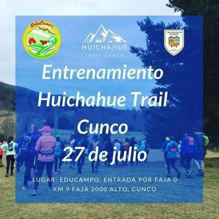 Entrenamiento Huichahue Trail Cunco 2019