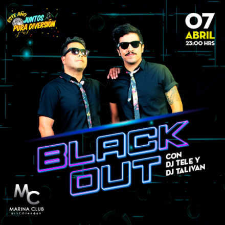 Fiesta BLACK OUT en MC