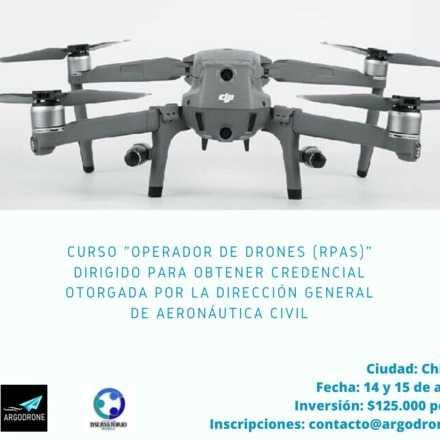 Curso Operador de Dron para Credencial DGAC