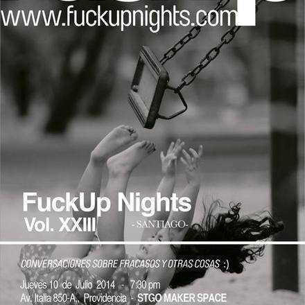 Fuckup Nights Santiago XXIII
