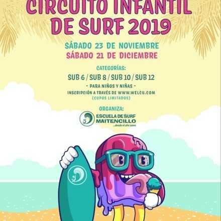 Escuela de Surf Maitencillo CIRCUITO DE SURF INFANTIL 2019 presentado por ACER (primera fecha 23 de Noviembre 2019)