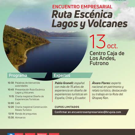 Encuentro Empresarios Ruta Escenica Lagos y Volcanes Lago Ranco
